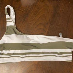 Abercrombie & Fitch One Shoulder Bikini Top NWT